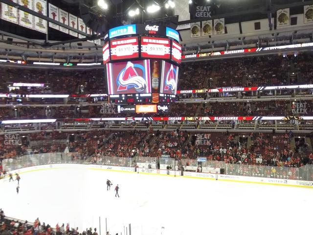United Center Section 216 view