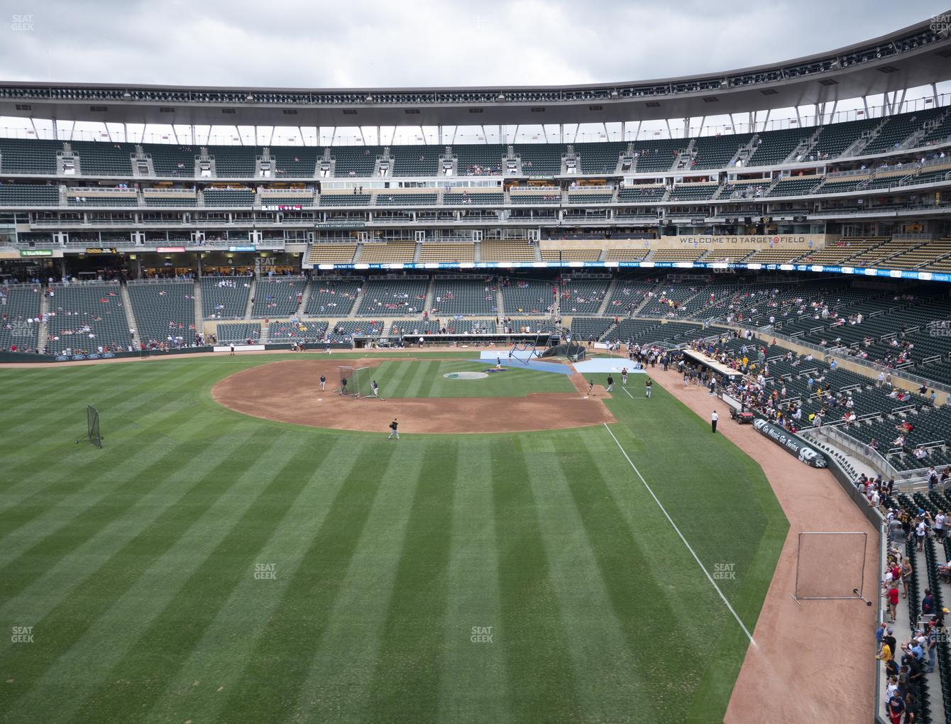 Minnesota Twins at Target Field Section 229 View