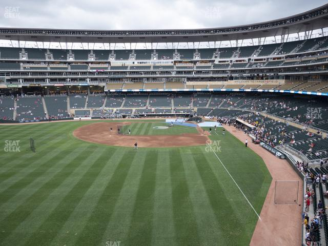 Target Field Section 229 view