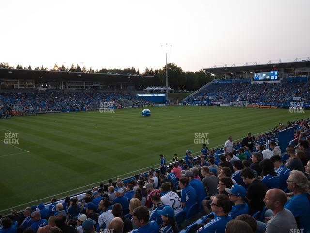 Saputo Stadium Section 126 view
