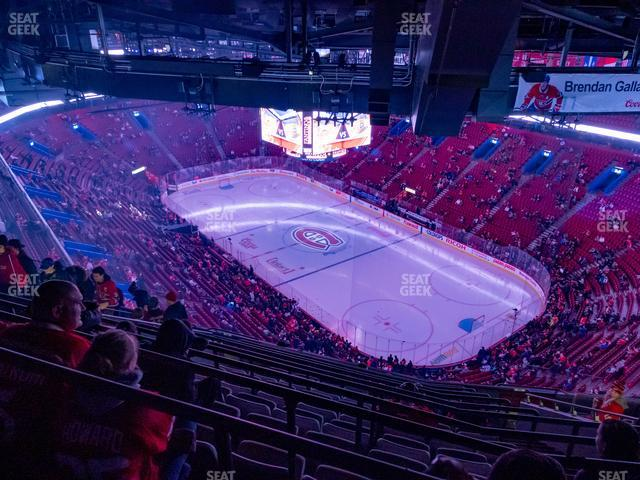 Bell Centre Section 414 view