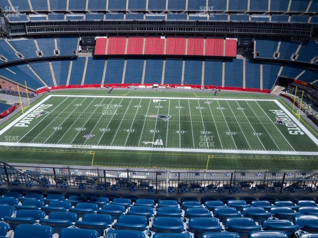 Gillette Stadium Section 331 view