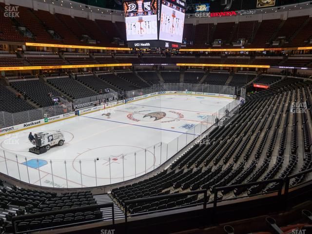 Honda Center Section 324 view