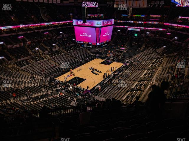 AT&T Center Section 213 view