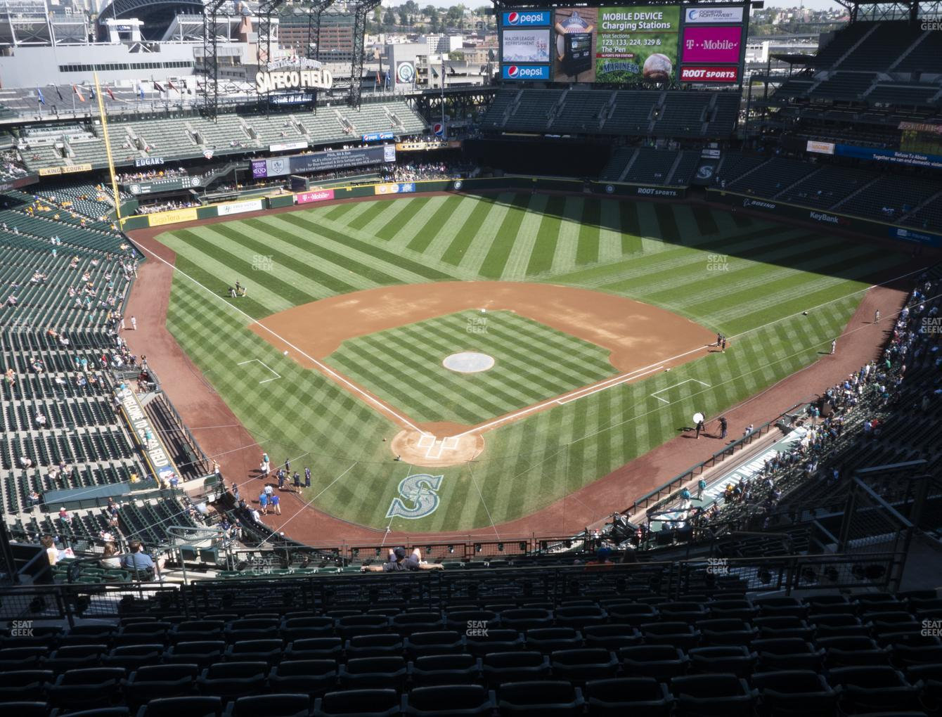 Seattle Mariners at T-Mobile Park Section 329 View