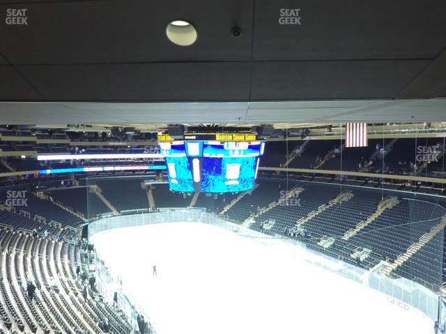 Madison Square Garden Section 414 view