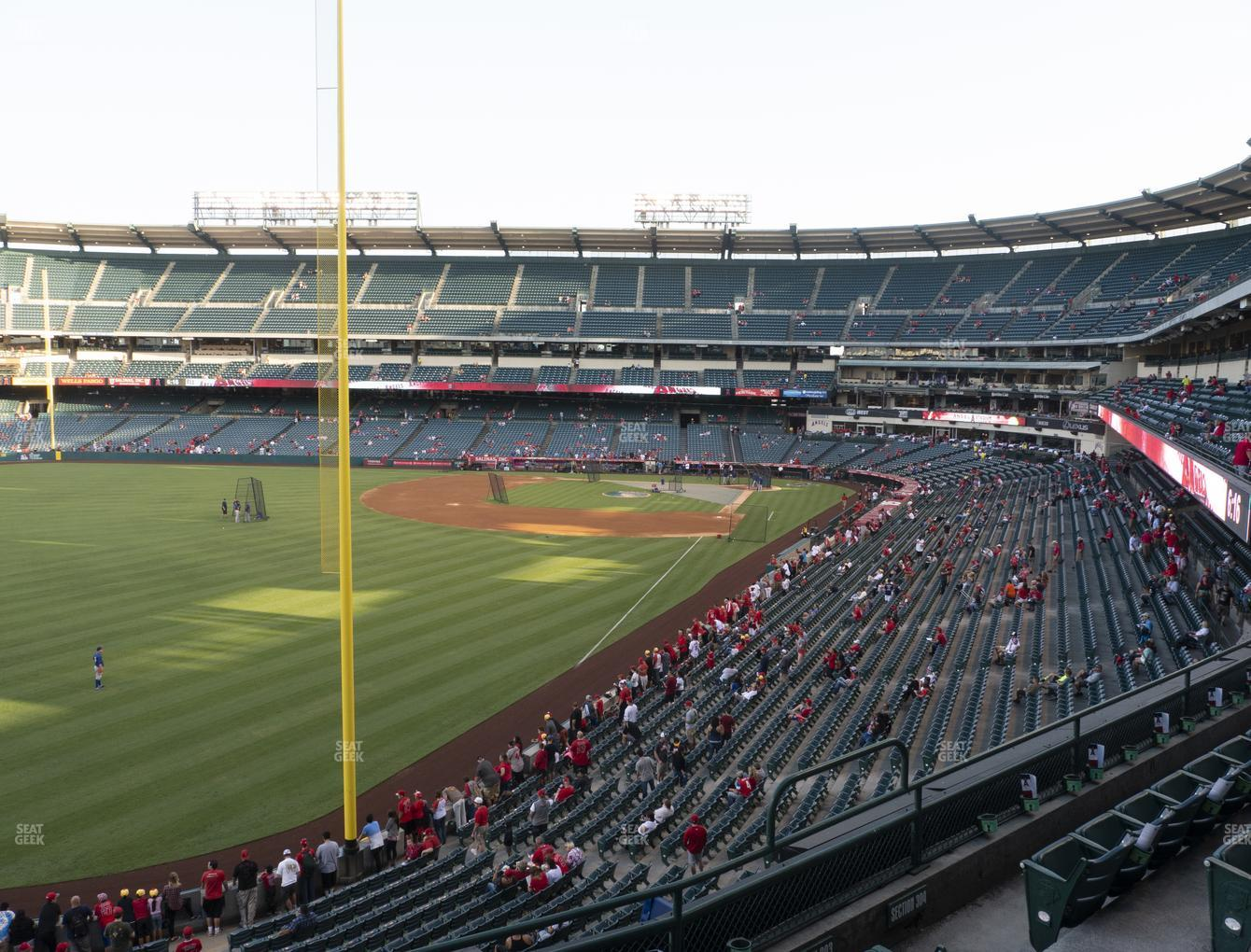 Los Angeles Angels at Angel Stadium of Anaheim Section 303 View