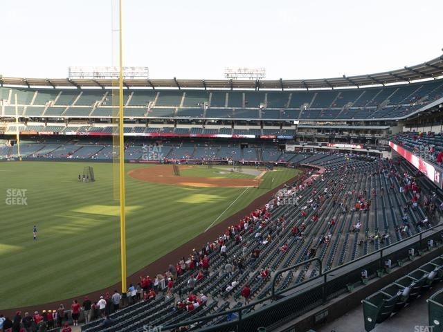 Angel Stadium of Anaheim Section 303 view