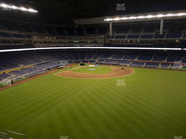Marlins Park Section 137 view