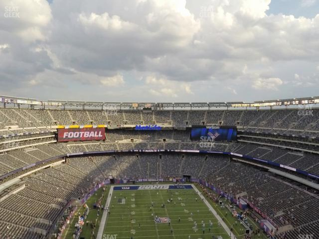 MetLife Stadium Section 302 view