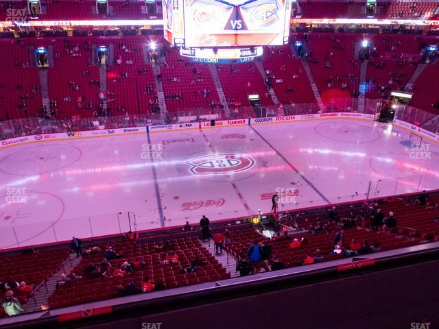 Bell Centre Section 202 view