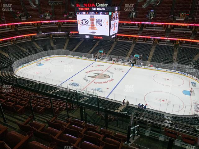 Honda Center Section 431 view