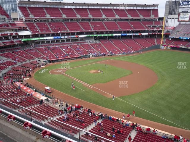 Great American Ball Park Section 434 view