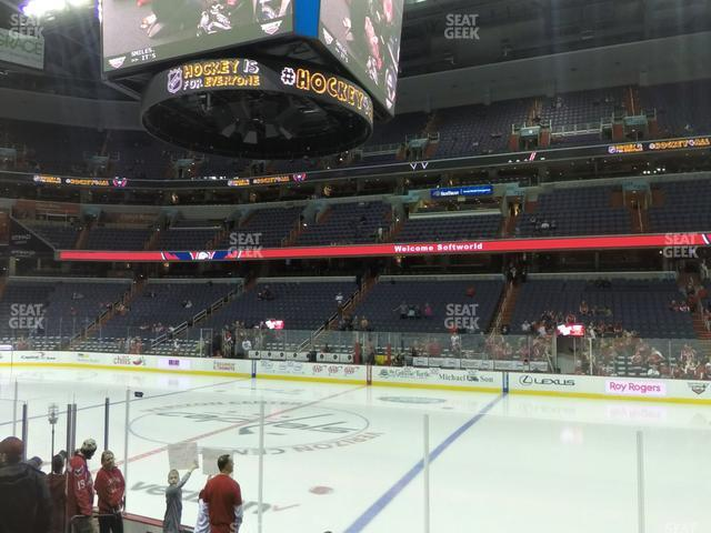 Capital One Arena Section 112 view