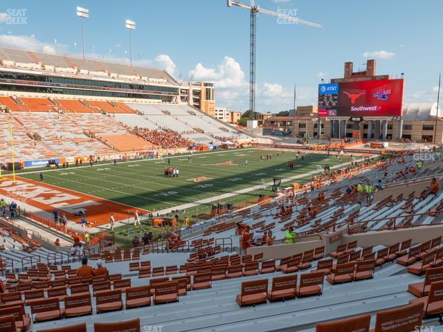 Darrell K Royal - Texas Memorial Stadium Section 13 view