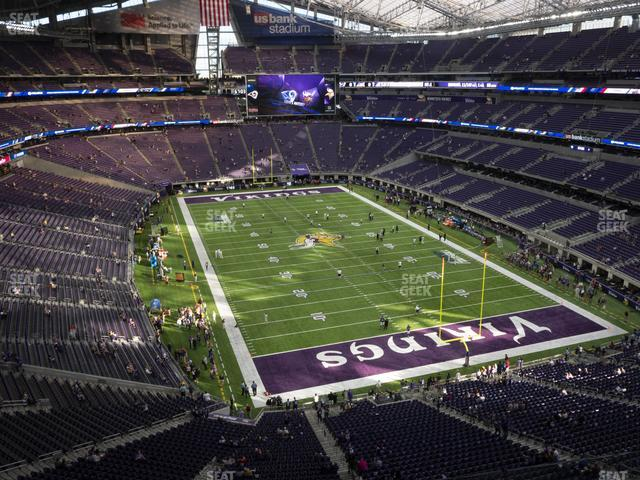 U.S. Bank Stadium Section 301 view