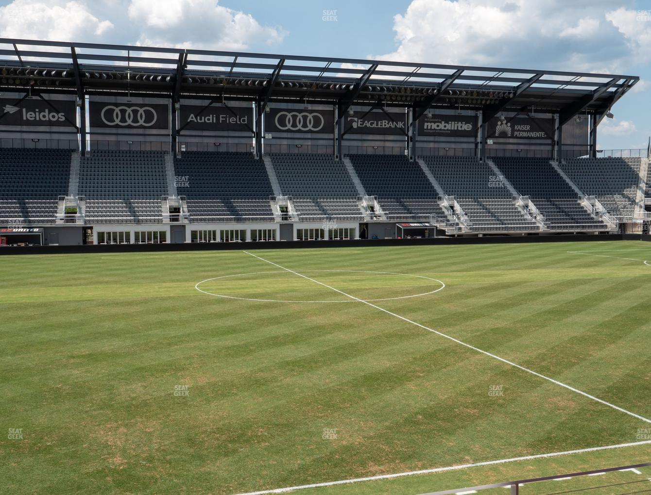 D.C. United at Audi Field Section Club 6 View