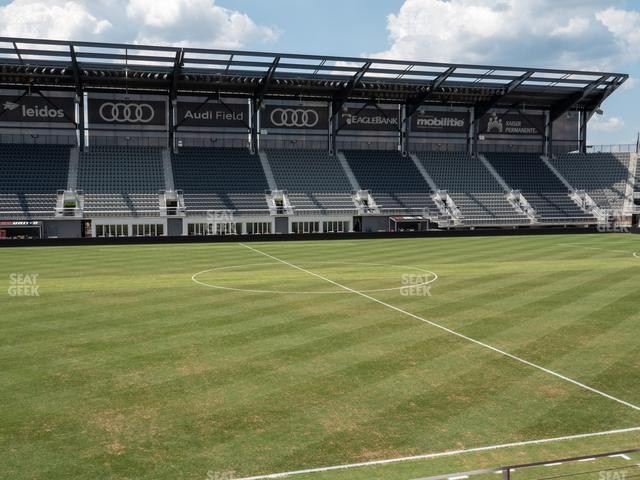 Audi Field Section Club 6 view