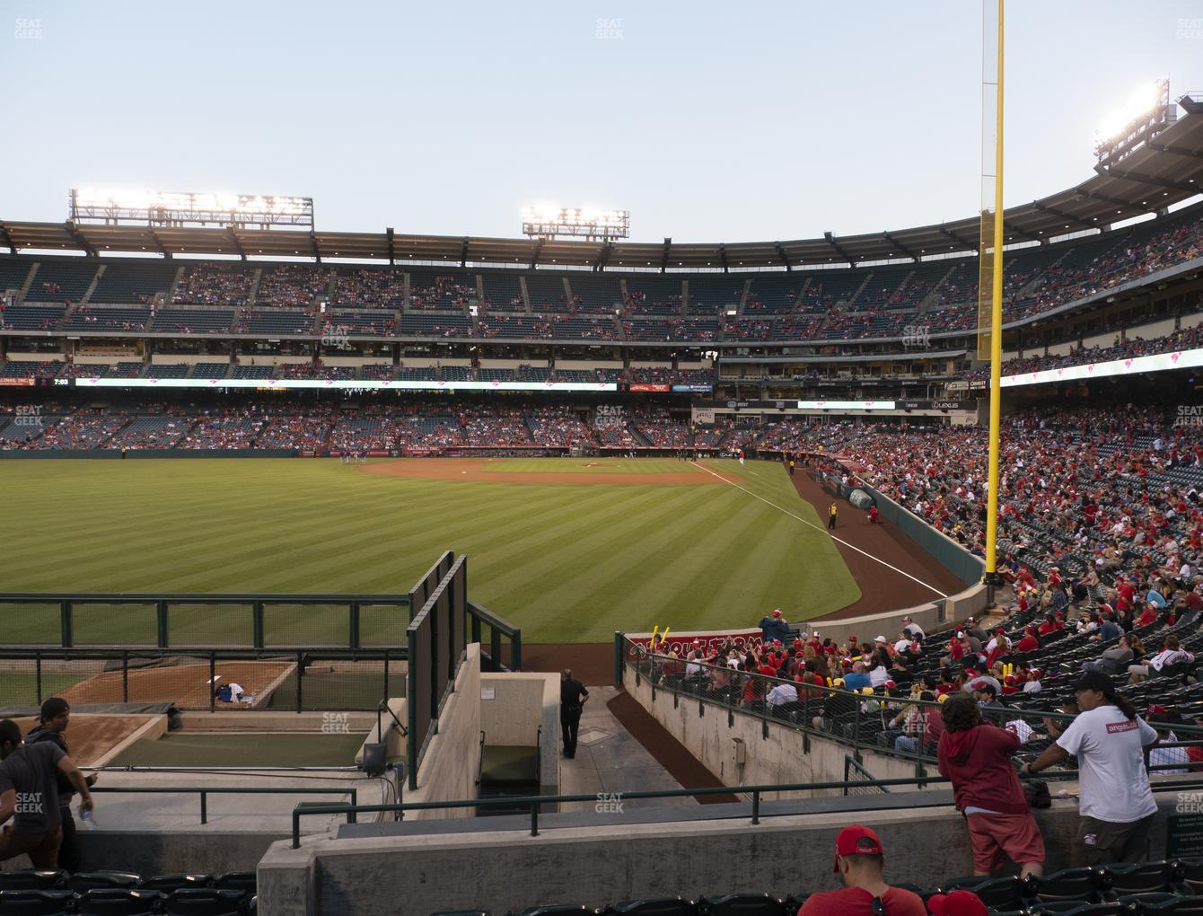 Los Angeles Angels at Angel Stadium of Anaheim Section 260 View
