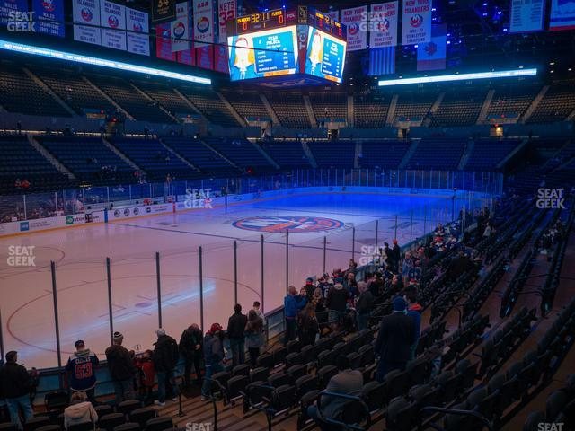 Nassau Veterans Memorial Coliseum Section 107 view