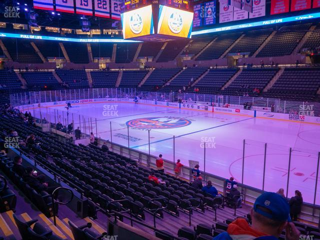 Nassau Veterans Memorial Coliseum Section 128 view