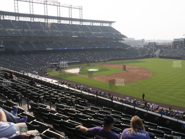 Coors Field Section 217 view