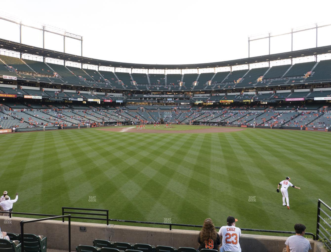 Baltimore Orioles at Oriole Park at Camden Yards Section 90 View