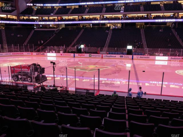 Xcel Energy Center Section 103 view