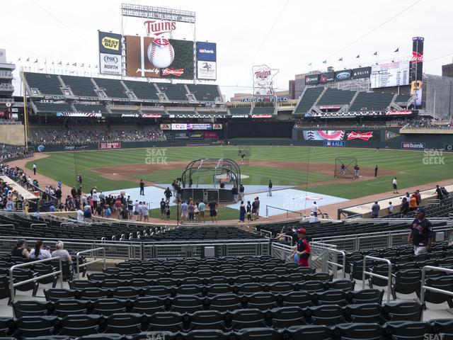 Target Field Section 113 view