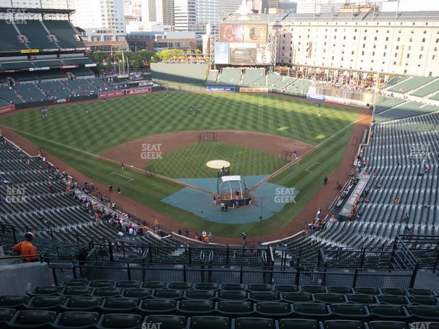 Oriole Park at Camden Yards Section 336 view
