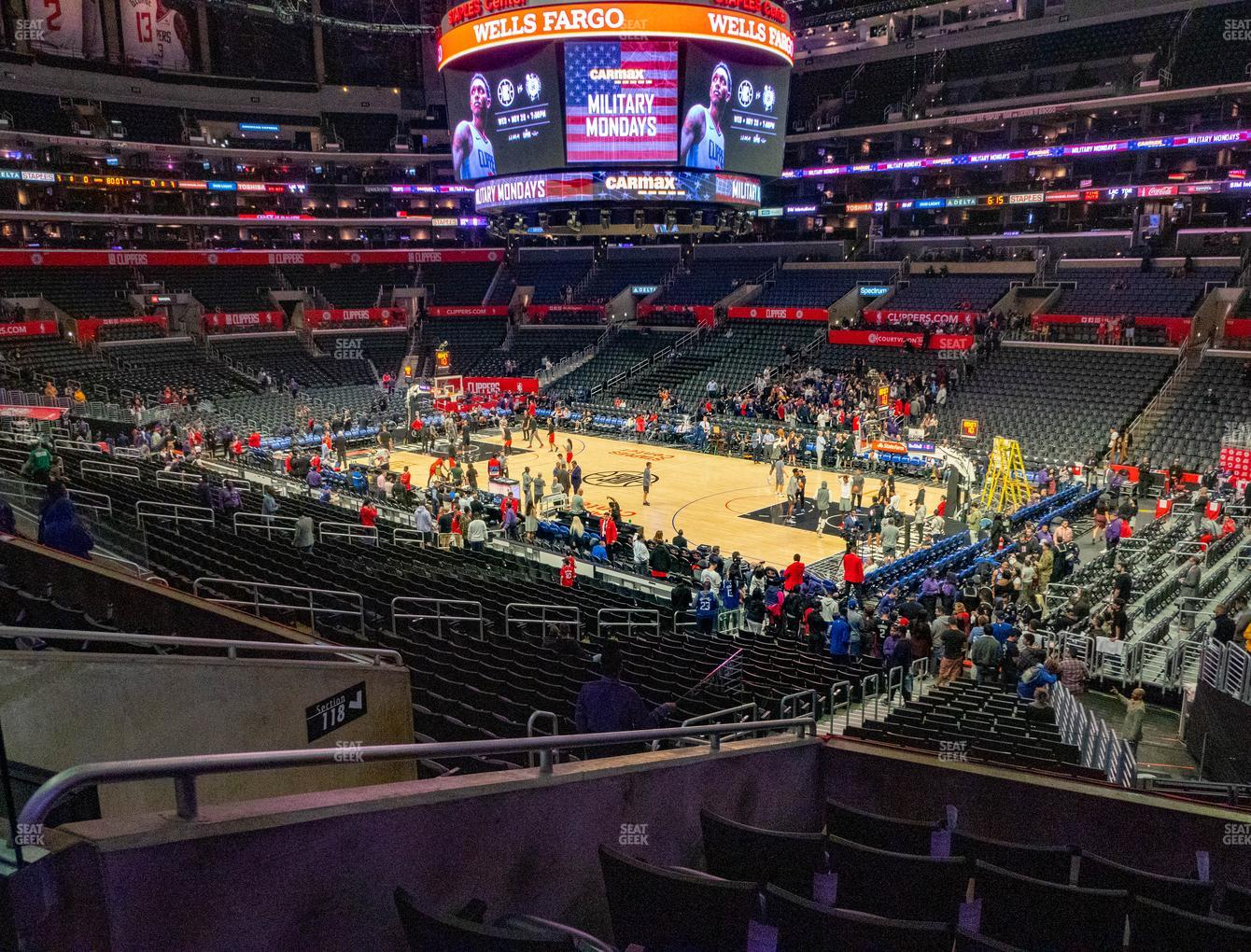 Los Angeles Sparks at Staples Center Premier 2 View