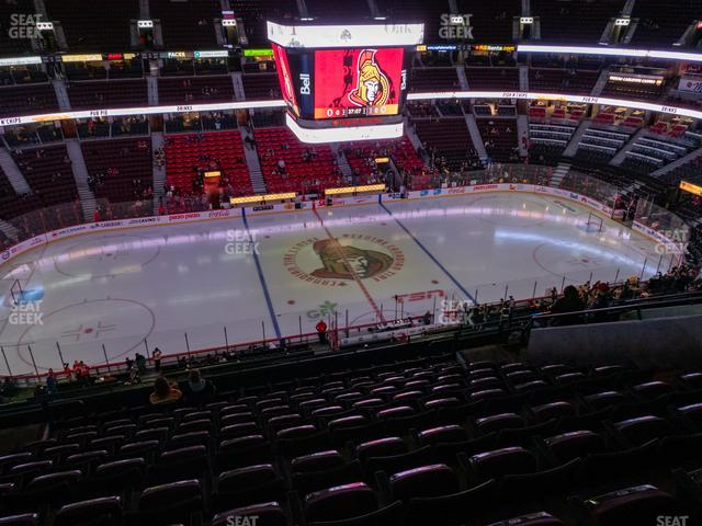 Canadian Tire Centre Section 323 view