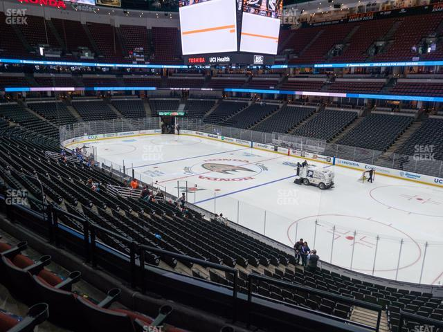 Honda Center Section 304 view