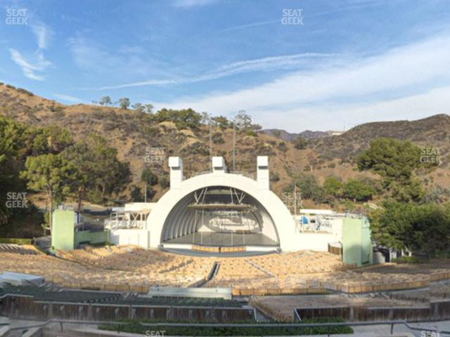 Hollywood Bowl Section M 2 view