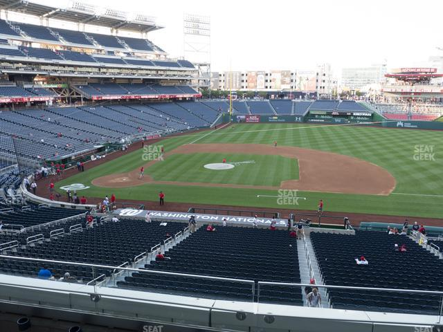 Nationals Park Section 219 view