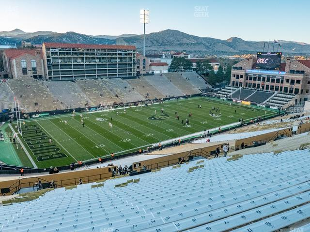 Folsom Field Section 557 view