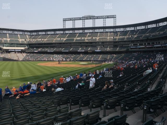 Coors Field Section 148 view