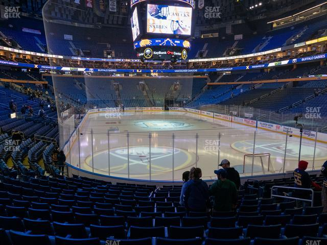 KeyBank Center Section 100 view