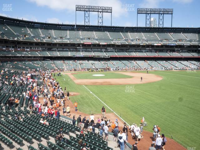 Oracle Park Arcade 150 view