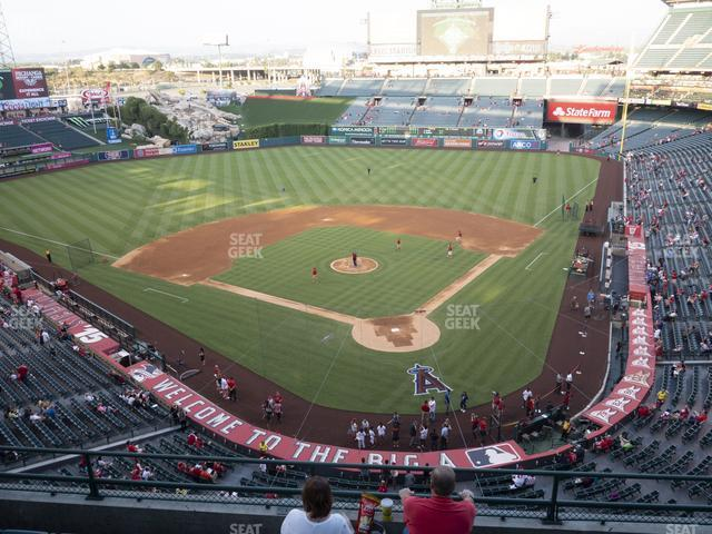 Angel Stadium of Anaheim Section 417 view