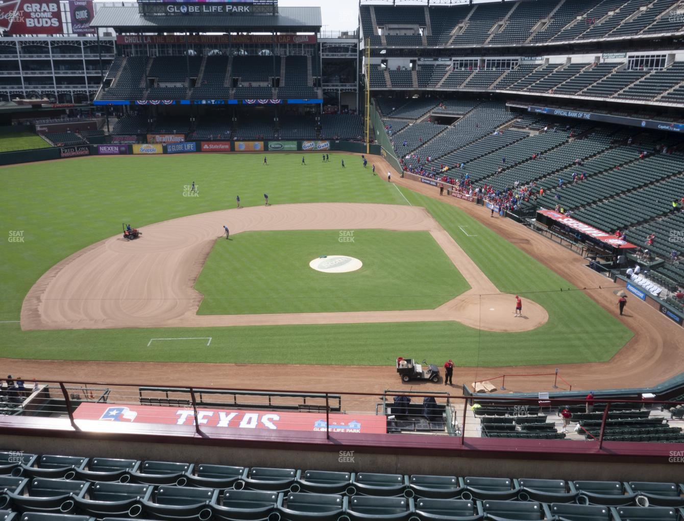 International Champions Cup at Globe Life Park Section 220 View