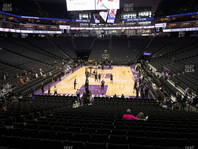 Golden 1 Center Section 113 view