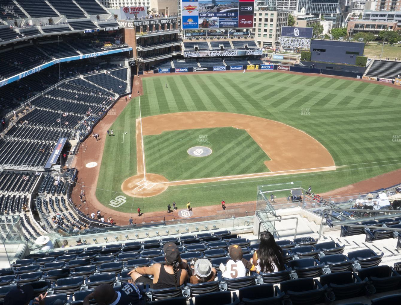 San Diego Padres at Petco Park Section 307 View