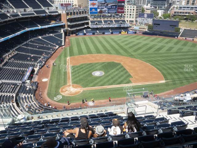 Petco Park Section 307 view