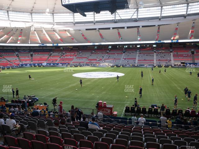 BC Place Stadium Section 213 view