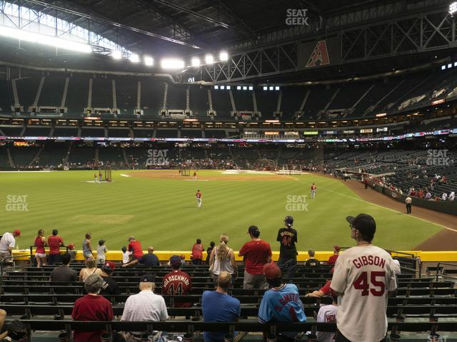 Chase Field Section 140 view