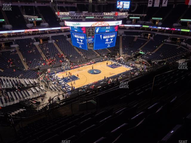 Target Center Section 215 view
