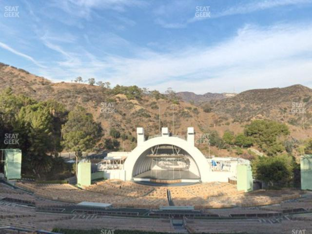 Hollywood Bowl Section S view