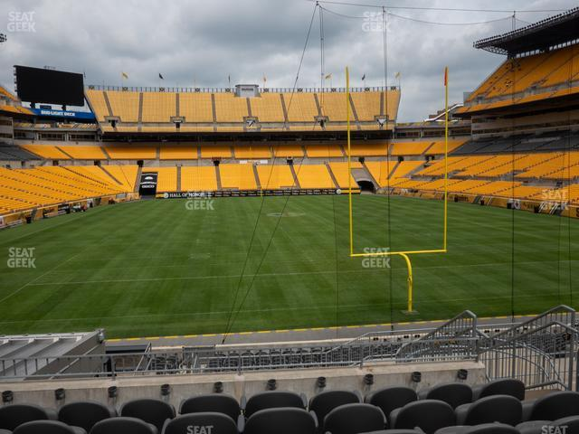 Heinz Field Section C 148 view