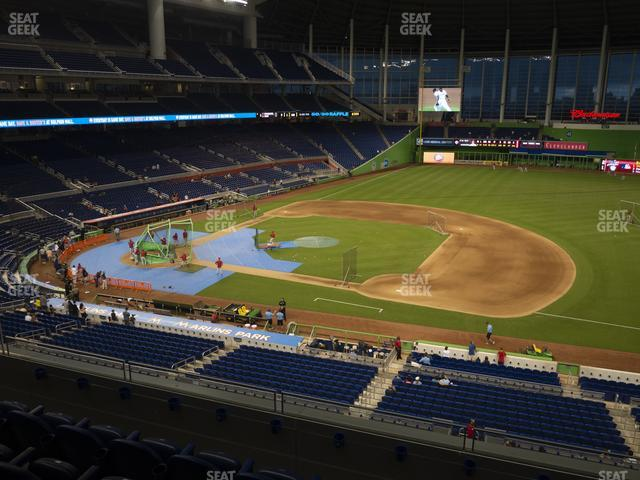 Marlins Park Section 208 view